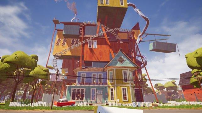 Einem Architekten würden bei diesem paradoxen Bauwerk vermutlich die Haare zu Berge stehen und mit jedem Update wird es verrückter.