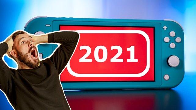 Nintendo hat 2021 noch einige neue Switch-Spiele im Gepäck!