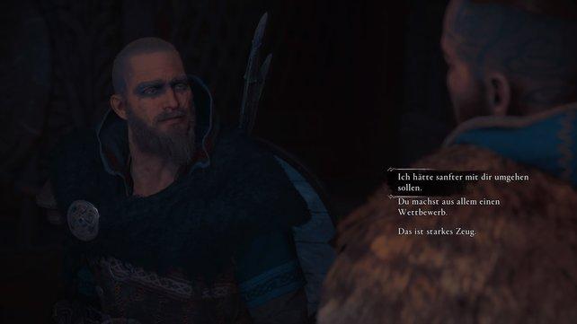 Im Gespräch mit Sigurd könnt ihr selbst entscheiden, wie ihr entsprechend eurer Vorstellung antworten wollt.