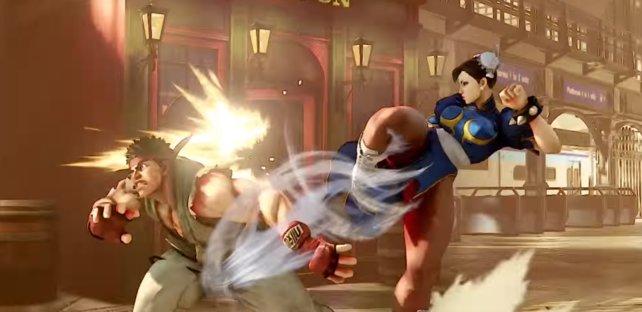 Ryu kann auch ordentlich einstecken