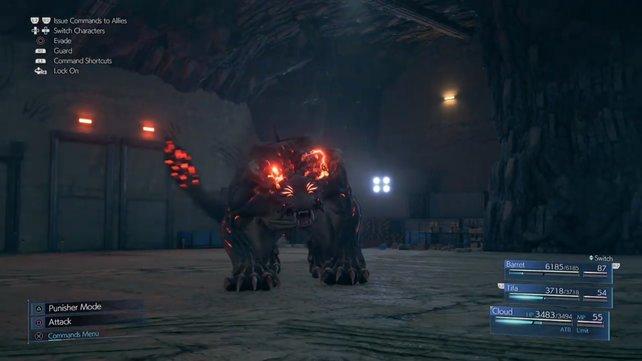 Der Behemoth Typ Zero ist einer der härtesten Gegner im Spiel.