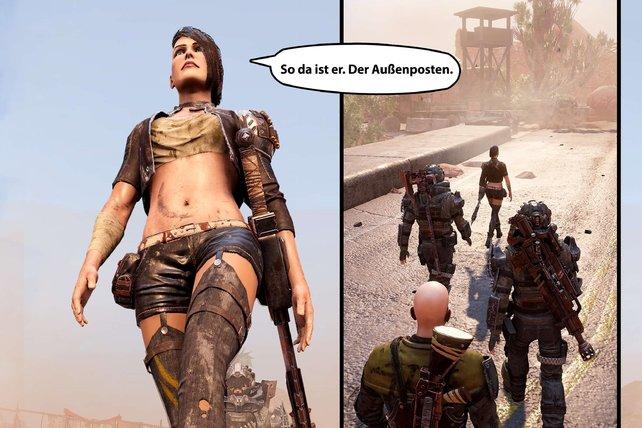 Begleiterin Nasty hat einen eigenen Comic spendiert bekommen. Die taffe Outlaw-Kriegerin sollte eigentlich wissen, dass ihr Outfit keine gute Rüstung ist.