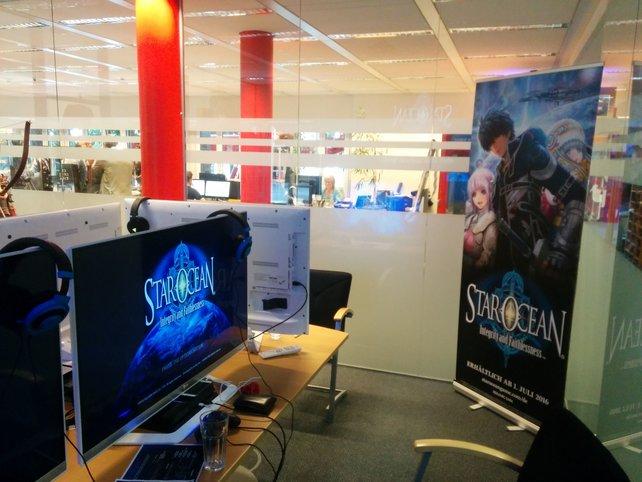 In Square Enix' Hamburger Büroräumen wurde das neue Star Ocean angespielt.