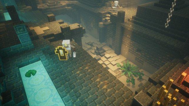 Minecraft Dungeons Neues Spiel Von Mojang Angekündigt - Minecraft waffen spiele