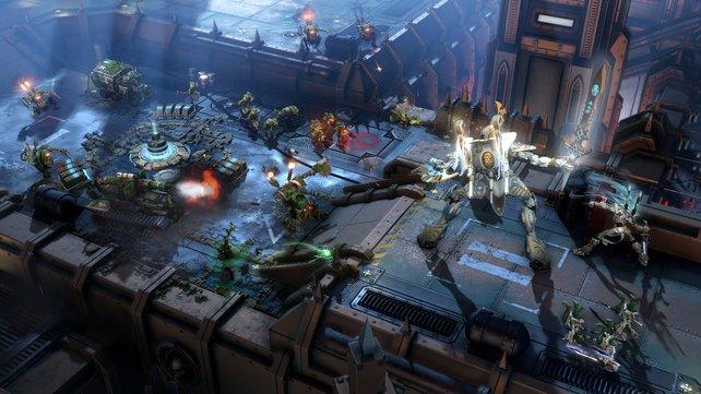 Die Elite-Einheiten sind riesig und können mit ihren Spezialfähigkeiten gehörigen Schaden anrichten.