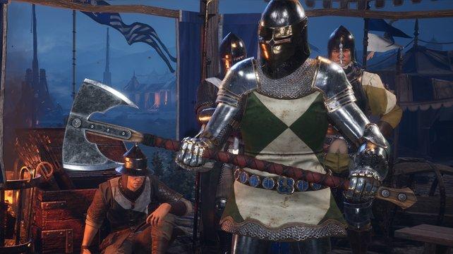 Die Kriegsaxt kann lediglich der Ritter führen.
