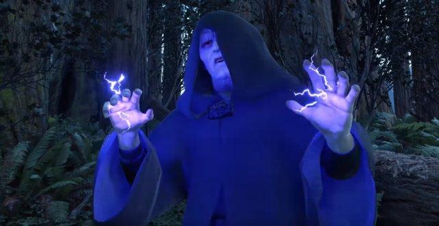 Der Imperator ist ein mächtiger Held der Sith, besonders sein Machtblitz ist effektiv.