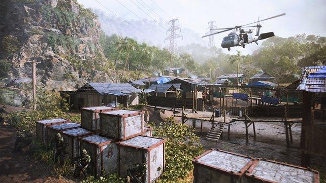 Für Battlefield 2042 kommt die aktuellste Version der Frostbite-Engine zum Einsatz