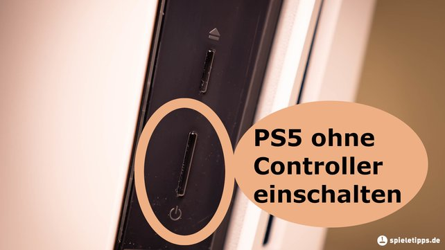 Ihr könnt die PS5 mit dem Controller und auch direkt an der Konsole ein- und ausschalten.