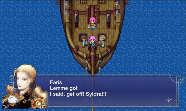 So etwas wollen wir nie wieder sehen: Die schreckliche PC-Konvertierung von Final Fantasy 5.