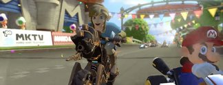 Mario Kart 8 - Deluxe: Gratis-Update mit Link aus Breath of the Wild