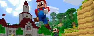 Tests: Minecraft Wii U Edition: Jetzt erobert Super Mario die Klötzchenwelt