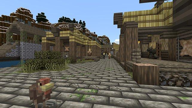 Skyrim-Nachbauten in Minecraft sind nichts Neues und tauchten kurz nach Release des Rollenspiels im Netz auf.