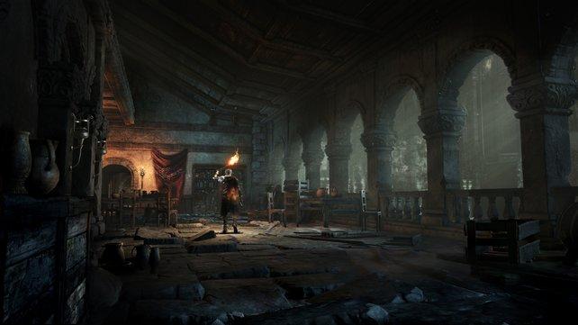 Allein in der Dunkelheit: Dark Souls 3 setzt weiterhin auf das Gefühl der Einsamkeit in einer feindlichen Spielwelt.