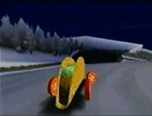 Das Taco-Auto wäre  heute eine Mikrotransaktion. Damals ließ es sich freispielen.