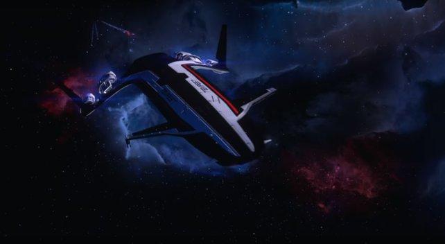 Die Enden und Konsequenzen der Handlungsgeschichte in Mass Effect 3 werden komplett ignoriert und es wurde eine eigenständige Geschichte entwickelt.