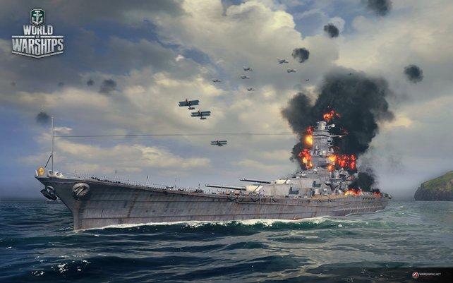 Auch große Schiffe fackeln schnell ab, wenn ihr planlos damit herumdümpelt.