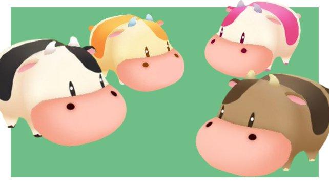 Kühe gibt es in allen möglichen Variationen.