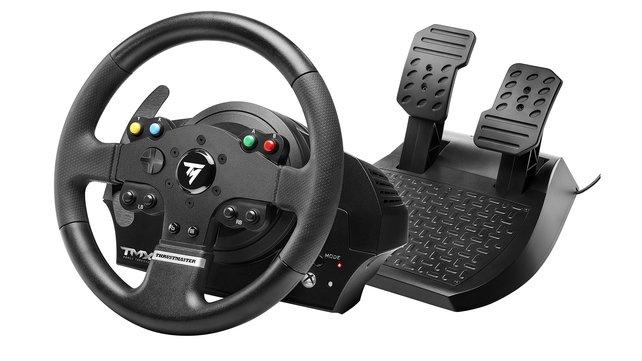 Das TMX für die Xbox One verfügt über die Technik des T150, die Tasten sind jedoch anders aufgebaut.