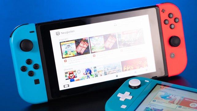 Der Preis der Nintendo Switch wurde offiziell reduziert. (Bild: GIGA)