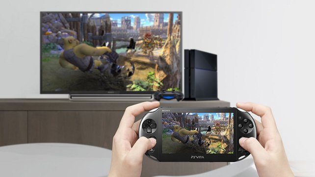 Die Spiele sehen erstaunlich gut auf dem Bildschirm der PS Vita aus.