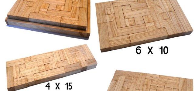 Bei Paschitnows Tetris-Vorbild Pentomino bestehen die Blöcke aus je fünf unterschiedlich angeordneten Quadraten, bei Tetris aus vier.