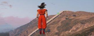 Panorama: Dank Mod als Son-Goku spielen