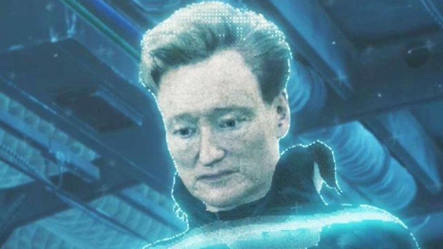 Conan O'Brians Charakter dürfte angesichts des Urin-Aromas vor seinem Haus die Nase rümpfen.