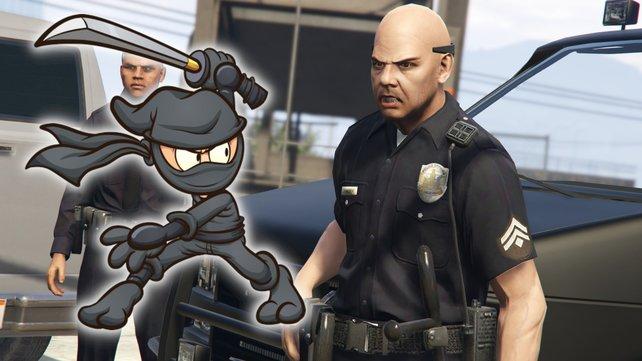 Verbrecher in GTA Online müssen den Ninja-Cop fürchten. Bildquelle: Getty Images/ memoangeles