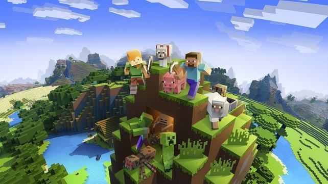 Millionen von Spielern: Minecraft ist 2020 weiterhin ein absoluter Spielermagnet.