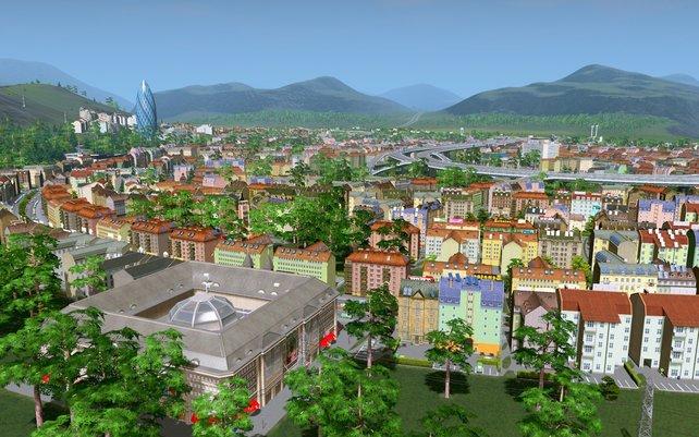 In Cities - Skylines baut ihr eure eigene Stadt.