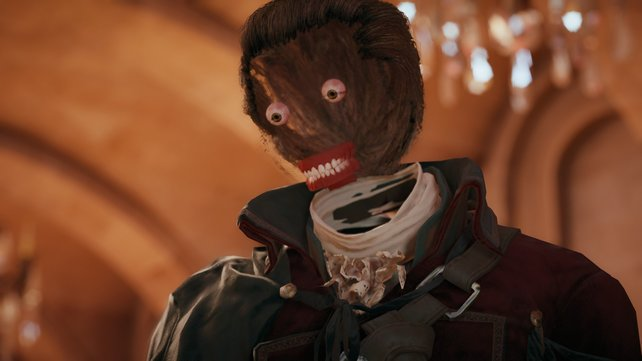 """Ist das alles, was bleibt? So sah Assassin's Creed - Unity ohne """"Day One""""-Patch aus."""