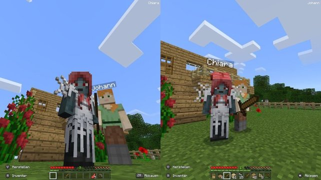 Splitscreen Sei Dank Wieso Ich Minecraft Viel Zu Lange Unterschätzt - Minecraft pixel spiele
