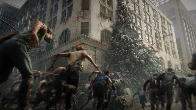 Hunderte Zombies die Jagd auf euch machen: In World War Z ist das Überleben gar nicht so einfach.
