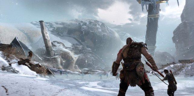 God of War endete mit einem Cliffhanger (hier nicht im Bild).