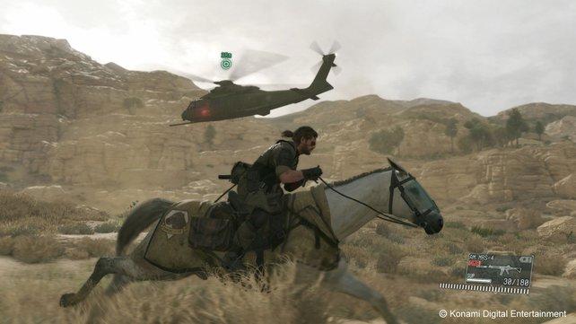 In den trockenen Steppen Afghanistans sind ausladende Ausritte angesagt.