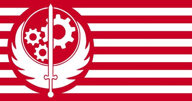 Das Logo der Stählernen Bruderschaft.