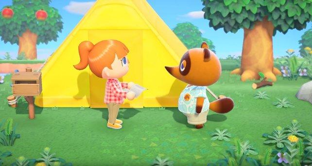 Noch lächelt die Bewohnerin, doch in Animal Crossing: New Horizons bekommt ihr nun weniger Sternis.