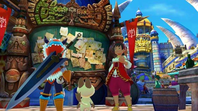 In Städten warten neben den Story-Quests auch Nebenmissionen.