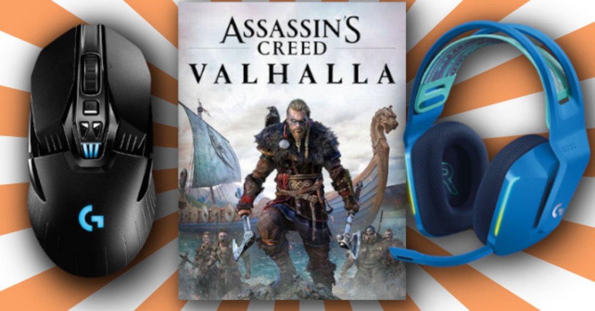 Assassin's Creed: Valhalla im Logitech-Bundle - jetzt bis zu 59 Prozent sparen