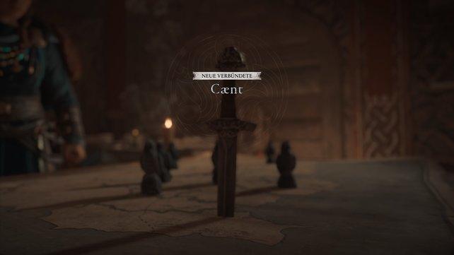 In Caent erwartet euch euer nächstes Abenteuer, in welchem ihr versucht, Sigurd aus Fulkes Klauen zu befreien.
