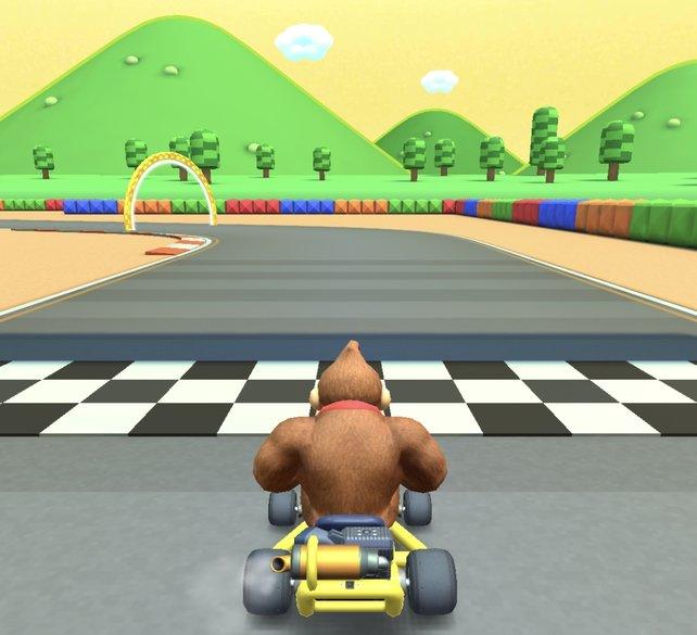Fans werden diese Strecke in Mario Kart Tour direkt wiedererkennen.