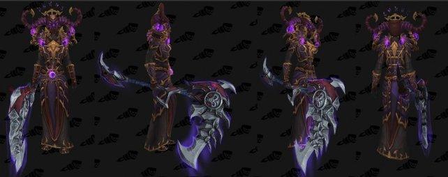 So sieht das mythische Tier-19-Set für Hexenmeister aus. Bildquelle: wowhead.com