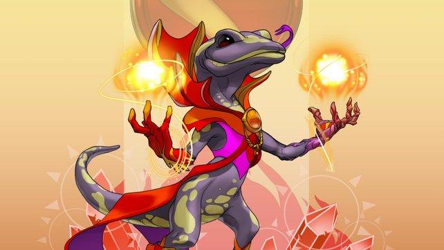 Die Gestaltung der Charaktere ist stets farbenfroh und zeigt auch abwechslungsreiche Gestaltungen.