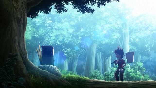 Der mysteriöse Kugelautomat im Wald, birgt ein altes Geheimnis