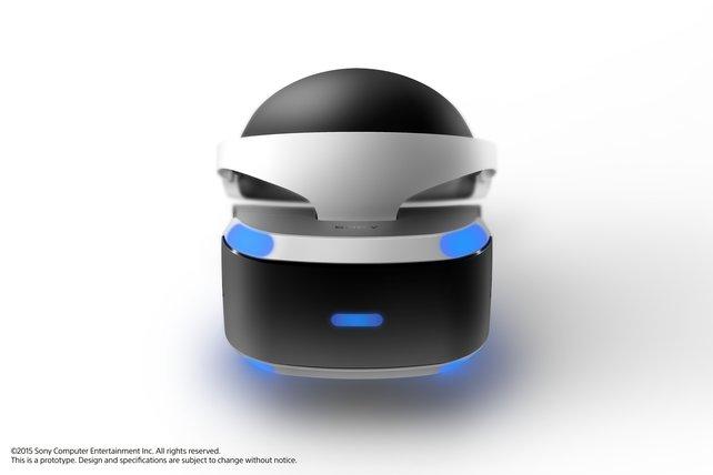 """Project Morpheus ist die einzige Konsolen-""""VR-Brille"""" im Feld."""