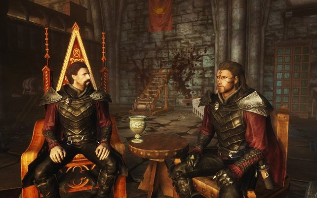 Der Vampir-Clan aus Skyrim: Dawnguard will die Sonne vernichten und lebt in einem Schloss voller Blut. Aber es gibt noch abgedrehtere Fraktionen in Videospielen.