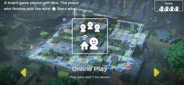 Endlich könnt ihr in Super Mario Party eine Lobby erstellen und Freunde einladen.