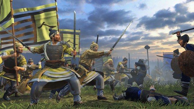Die gelben Turbane blasen zum Angriff!