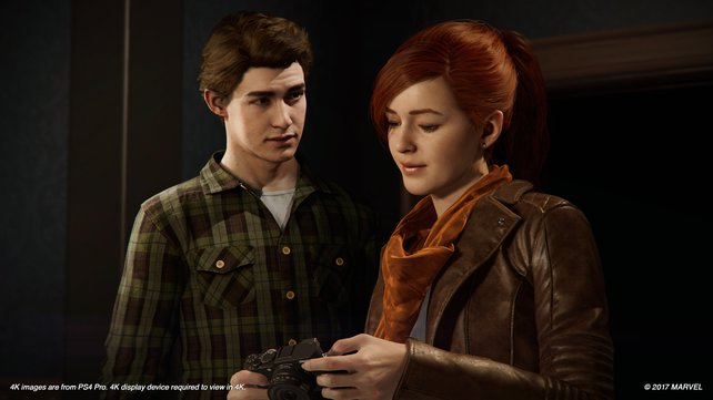 Peter Parker und seine Ex-Freundin MJ. Ob es da nochmal ein Happy End geben wird?